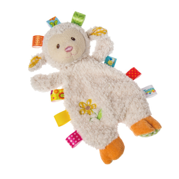 MARY MEYER 玩偶標籤安撫巾~小綿羊