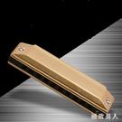 口琴升級款黃牌十孔口琴加厚10孔成人學生初學者清晰 tx1287【極致男人】