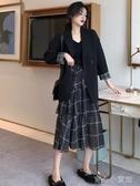 背心馬甲網紅小西服套裝初秋新款韓版寬鬆英倫風設計感小眾西裝外套女  育心小館