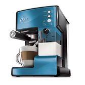 美國OSTER-奶泡大師義式咖啡機PRO升級版(星礦藍)BVSTEM6602B