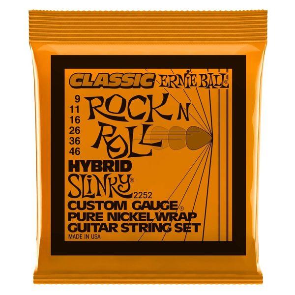 小叮噹的店-美國 Ernie Ball 2252 (09-46) 電吉他弦 HYBRID SLINKY ROCK