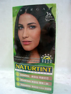 NATURTINT赫本~3N深棕黑色染髮劑
