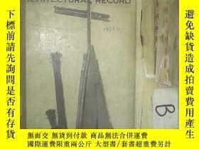 二手書博民逛書店ARCHITECTURAL罕見RECORD 1957 12 建築實錄1957 12Y261116