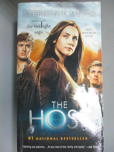【書寶二手書T1/原文小說_OKA】The Host-A Novel_Meyer, Stephenie