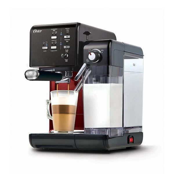 送磨豆機+登錄送義式膠囊50入 美國OSTER 頂級義式膠囊兩用咖啡機