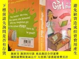 二手書博民逛書店The罕見Naughtiest Girl is a Monitor By Enid Blyton:最淘氣的女孩是伊