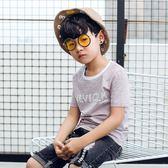 男童短袖 夏季男童短袖t恤夏兒童男夏裝中大童韓版體恤男孩半袖上衣童裝潮 阿薩布魯