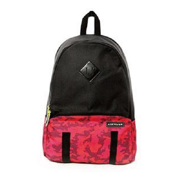 Backbager 背包族【美國 AIRWALK】運動迷彩大容量後背包/後肩包/背包/休閒包_紅色