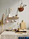 壁飾掛件 北歐風手工編織棉繩置物架客廳臥室民宿墻飾壁掛隔板麻繩裝飾掛件 探索