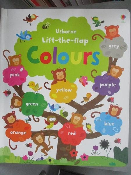 【書寶二手書T1/少年童書_QXT】Lift-the-flap Colours_Felicity Brooks,Melisande Luthringer