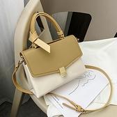 法國質感流行包包洋氣時尚百搭單肩女士包包斜背包小方包-Milano米蘭