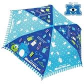 日本限定 迪士尼 怪獸大學 毛怪 大眼怪 繪圖點點版 折疊傘 / 折疊雨傘