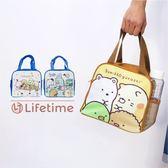 〖LifeTime〗﹝角落生物側網水壺便當袋﹞正版手提餐袋 網袋 野餐袋 角落生物 白熊 企鵝 B19128