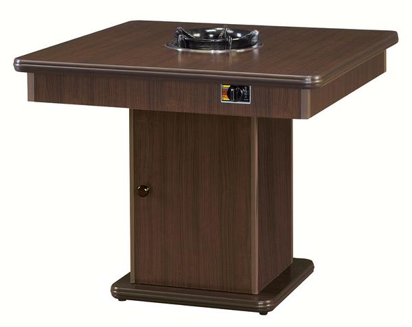 【 IS空間美學】方型3X3火鍋桌