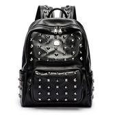後背包防水男士韓版雙肩背包學生書包大容量背包《印象精品》r995