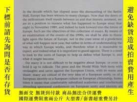 二手書博民逛書店The罕見Idea of a United Europe: Po