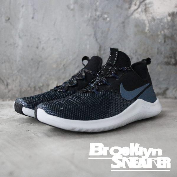 Nike  Free TR 8 Metallic 灰 黑 慢跑鞋 女 (布魯克林) AJ7833-044