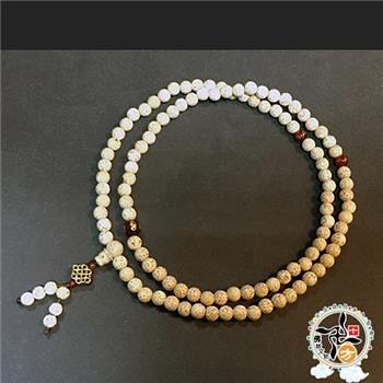 吉祥結+星月菩提108念珠6mm【十方佛教文物】