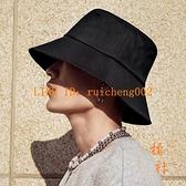 遮陽漁夫帽子男夏季大頭圍防曬帽遮臉防紫外線太陽帽【橘社小鎮】
