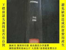 二手書博民逛書店refractories罕見journal 7-12 1958(
