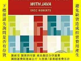 二手書博民逛書店Thinking罕見Recursively With JavaY256260 Eric S. Roberts