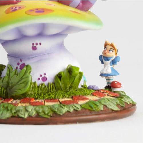 《Enesco精品雕塑》愛麗絲Q版妙妙貓蘑菇塑像-Cheshire Cat(The World of Miss Mindy)_EN93053