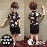 男童童裝短袖t恤夏裝休閑POLO衫夏季韓版兒童翻領半袖小孩上衣潮-奇幻樂園