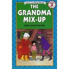 〈汪培珽英文書單〉〈An I Can Read系列:Level 2)THE GRANDMA MIX-UP / 讀本