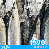 【台北魚市】秋刀魚330g以上