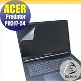 【Ezstick】ACER Predator PH317-54 靜電式筆電LCD液晶螢幕貼 (可選鏡面或霧面)