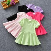 618好康鉅惠夏季4短袖5歲嬰兒童裝夏天公主連身裙子