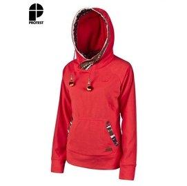 【速捷戶外】PROTEST 女都會保暖上衣 (紅色) GATTON HOODY