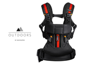 Baby Bjorn Carrier One  Outdoors 超輕量多功能透氣抱嬰袋-黑/藍