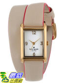 [美國直購 USAShop] 手錶 kate spade new york Women s 1YRU0179 Champagne Cooper Wrap Watch $8173