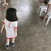 可愛2018春裝新款兒童正韓休閒女童可愛毛線裙潮禮物限時八九折