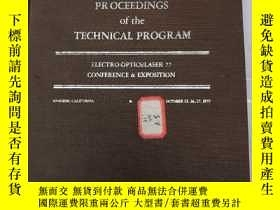 二手書博民逛書店processings罕見of the technical pr