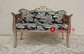 [紅蘋果傢俱] ML5003 新古典 小貴妃椅 小沙發椅 休閒椅 穿鞋凳 造型椅 洽談椅  金箔 銀箔
