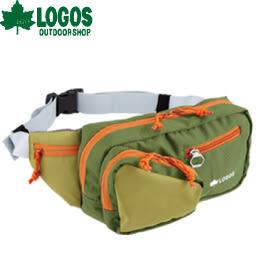 【LOGOS 日本 HIPBAG腰包 綠 】88250120/斜背包/腰包/休閒背包/小包★滿額送
