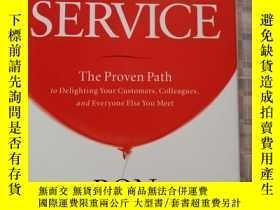 二手書博民逛書店Uplifting罕見Service:The Proven Path to Delighting Your Cus
