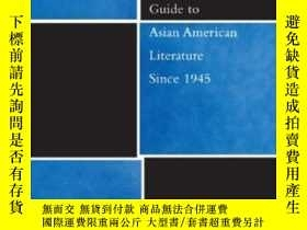 二手書博民逛書店The罕見Columbia Guide To Asian American Literature Since 19
