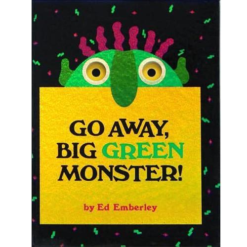 (二手原文書)Go away, big green monster!