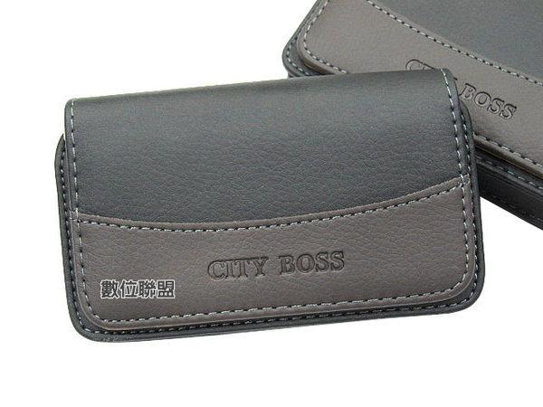 CITY BOSS 腰掛式手機皮套 SONY Xperia Z3 Plus Z3+ /Xperia M4 Aqua /Xperia E4g E2115 腰掛皮套 橫式皮套 BWR23