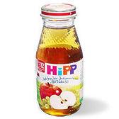 【TwinS伯澄】HiPP喜寶-天然蘋果葡萄汁200ml No.8030