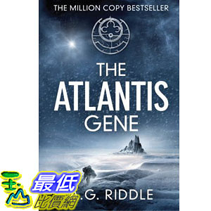 [104美國直購] 美國暢銷書排行榜 The Atlantis Gene: A Thriller (The Origin Mystery, Book 1) Paperback