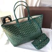 emo狗牙包韓國包包女新款大容量媽咪子母包手提菜籃子托特包 瑪麗蘇