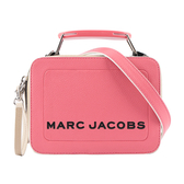 【MARC  JACOBS】The Mini Box拚色相機包(粉色) M0015799 958