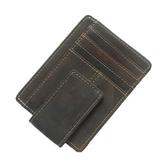 瘋馬皮皮夾(短夾)-防磁RFID多功能卡包男錢包73qs48【時尚巴黎】