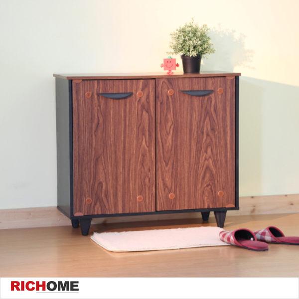 【RICHOME】♥SC193新品♥《凱蒂雙門透氣鞋櫃》鞋櫃/玄關/置物櫃/穿鞋椅/防塵