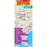 波士頓街道圖(中英對照)