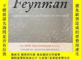二手書博民逛書店The罕見Feynman Lectures on Physics Vol 3 Quantum Mechanics